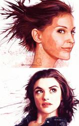 Portraits by daveisblue