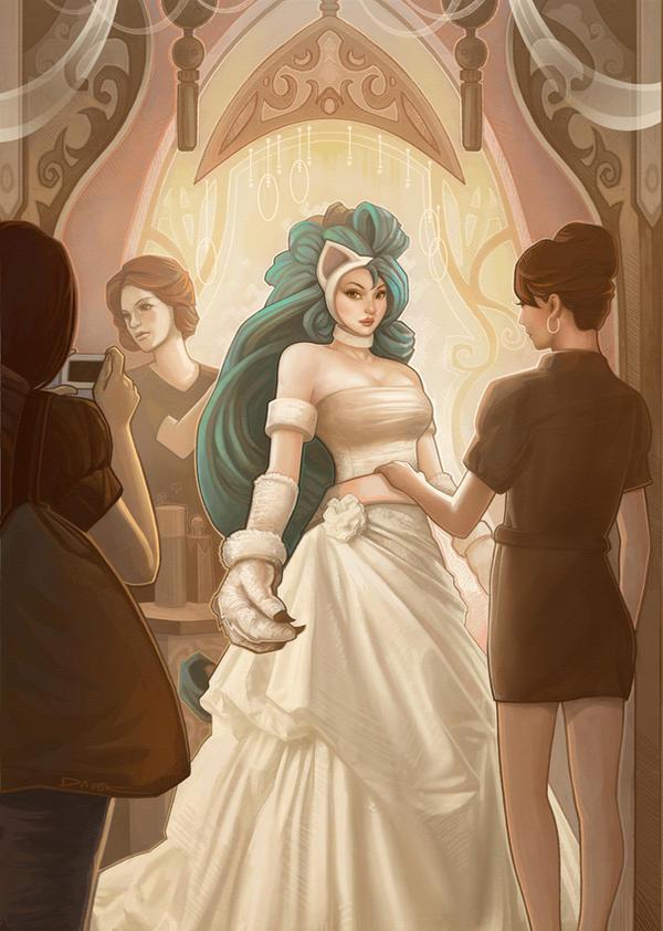 Felicia Wedding by daveisblue