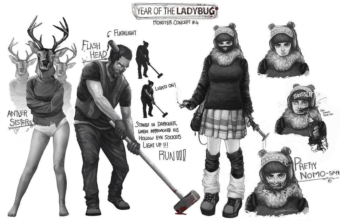 YEAR OF THE LADYBUG #4 by daveisblue
