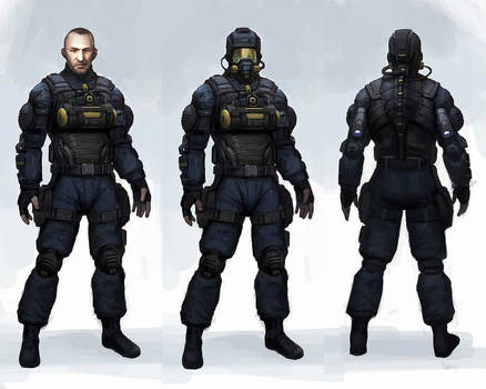 Deep black: Reloaded - concept 2