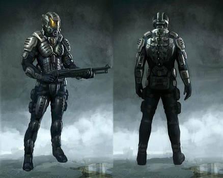 Deep black: Reloaded - concept 3