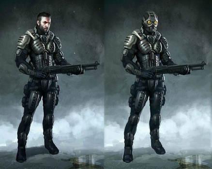 Deep black: Reloaded - concept 4