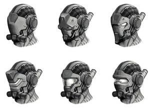 Deep black: Reloaded - concept 5 (Helmets)