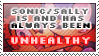 Sonic/Sally Unhealthy Stamp by TheTartestBite