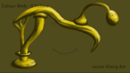 Colour Blob - 5 Yellow