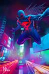 Spider-Man 2099 by caswallon