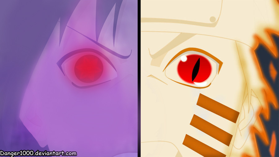 Naruto Bijuu Mode Vs Sasuke Susanoo By Danger1000 On