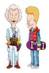 Beavis and Butt-head Do Back to the Future