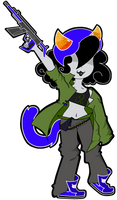 Nepeta The Gunner Girl