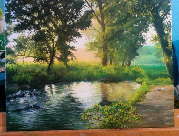 landscape by Zhekan