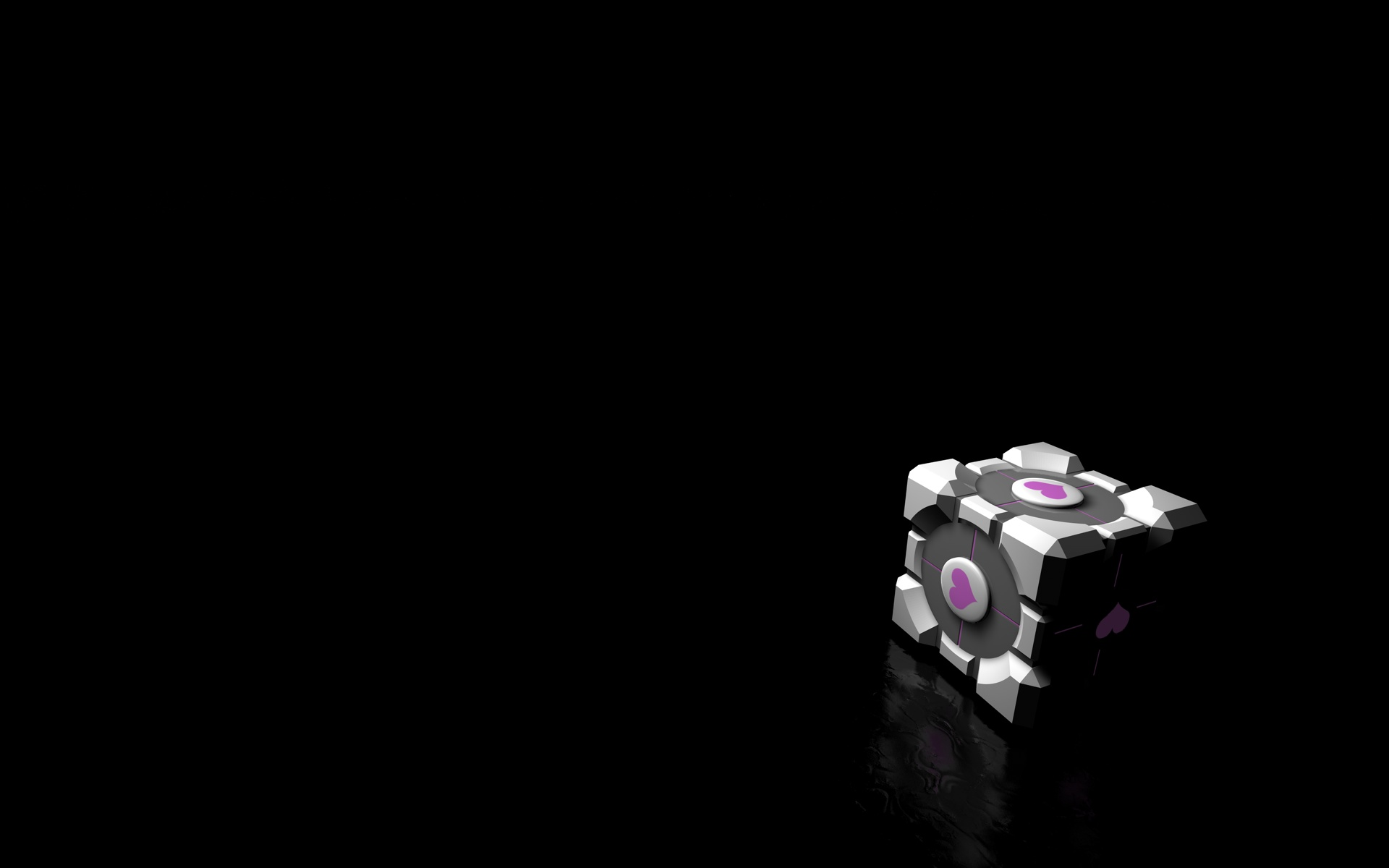 Weighted Companion Cube by feinschmecker