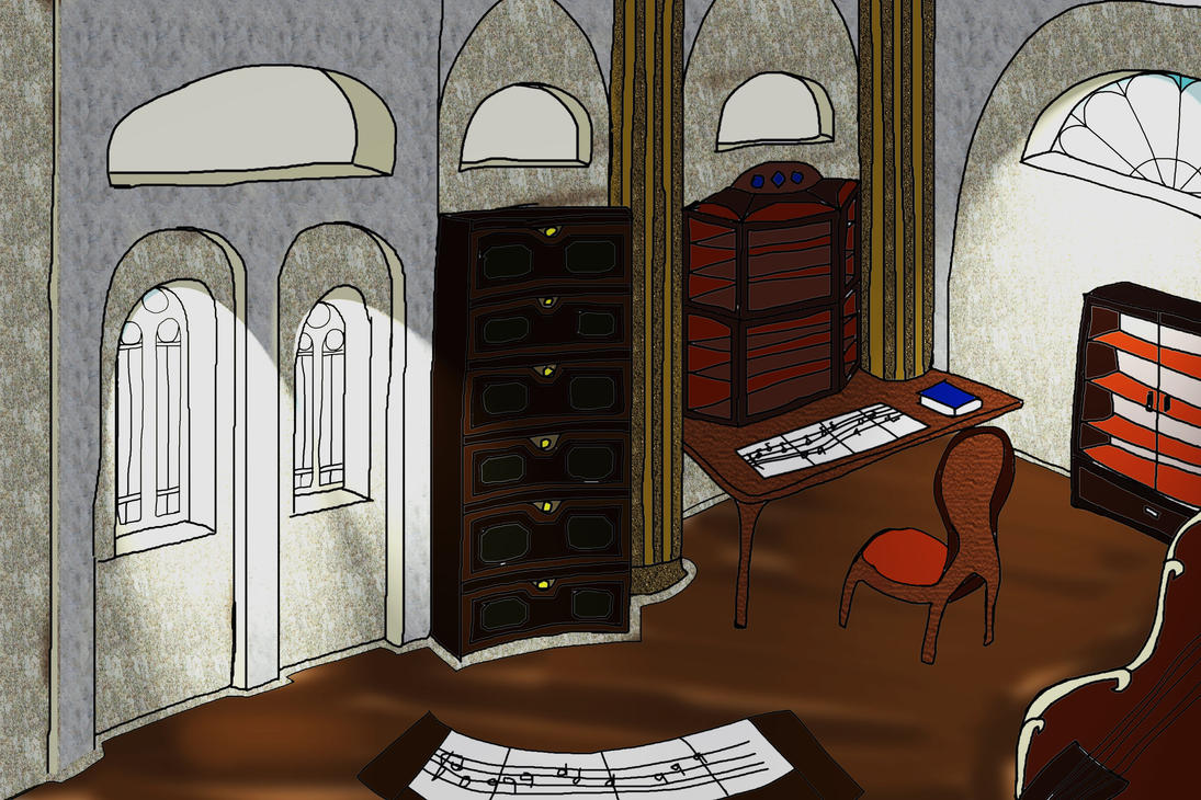 A Musik masters room by XTorbenX