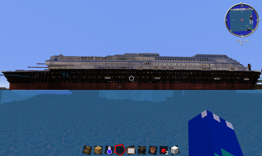 Super Cruse Ship work in Progress by XTorbenX