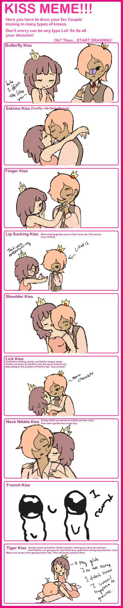 Kiss meme JakielXMariaBella by GingerQuin
