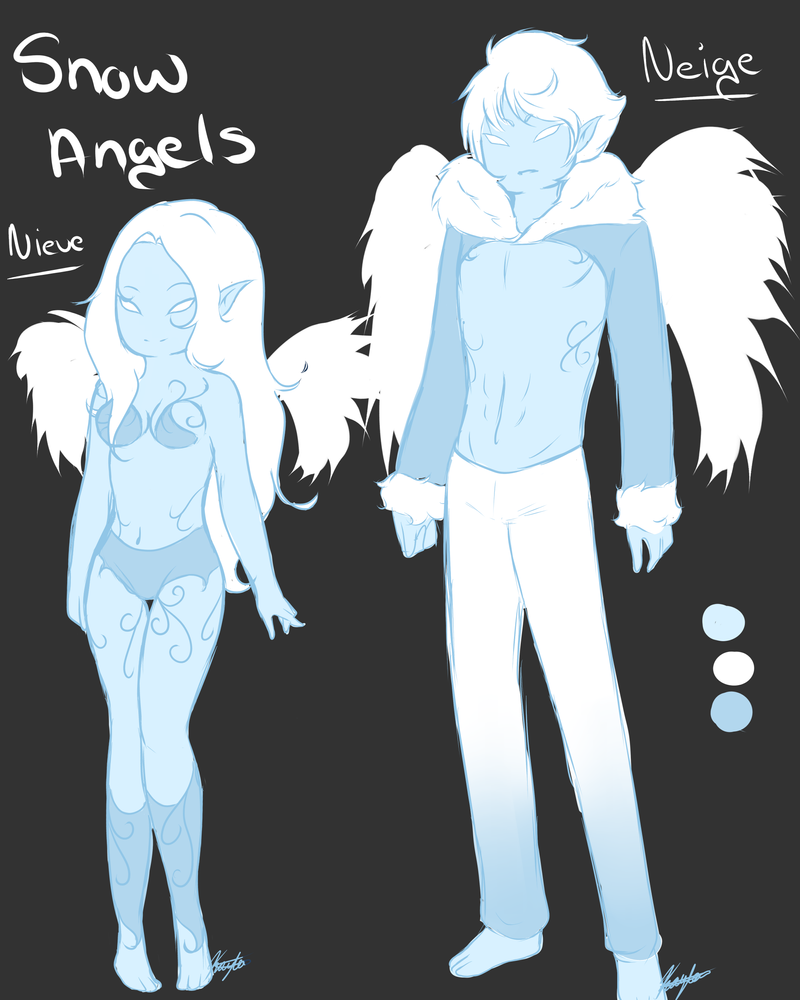 Snow Angels (READ DESCRIPTION) by GingerQuin