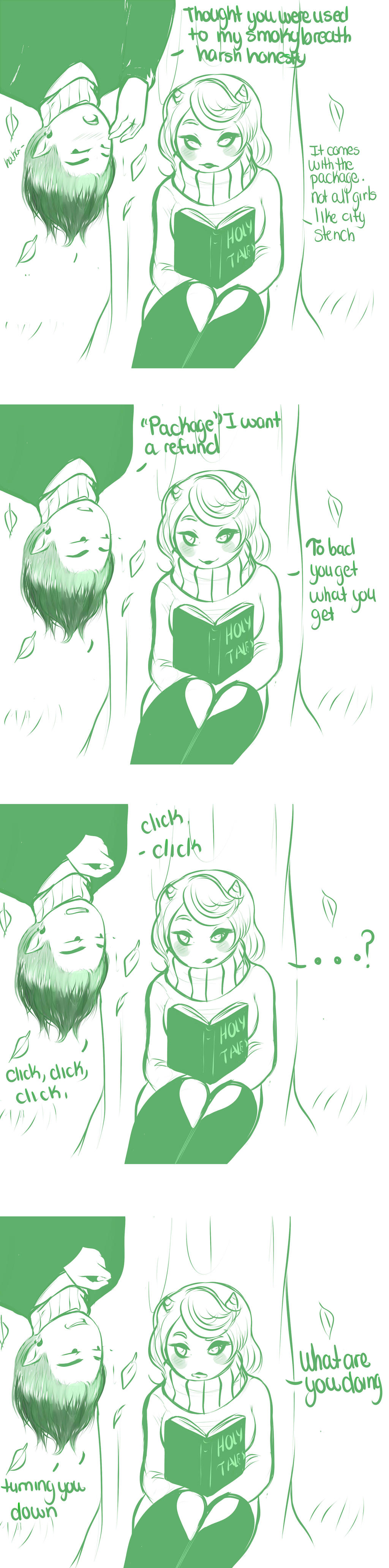 personal space part 2 by GingerQuin