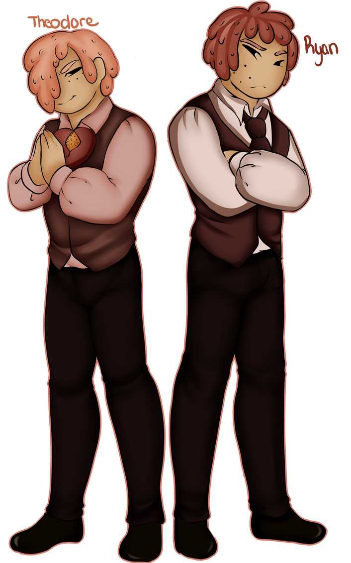 GingerSmore brothers 2nd gen revamp by GingerQuin
