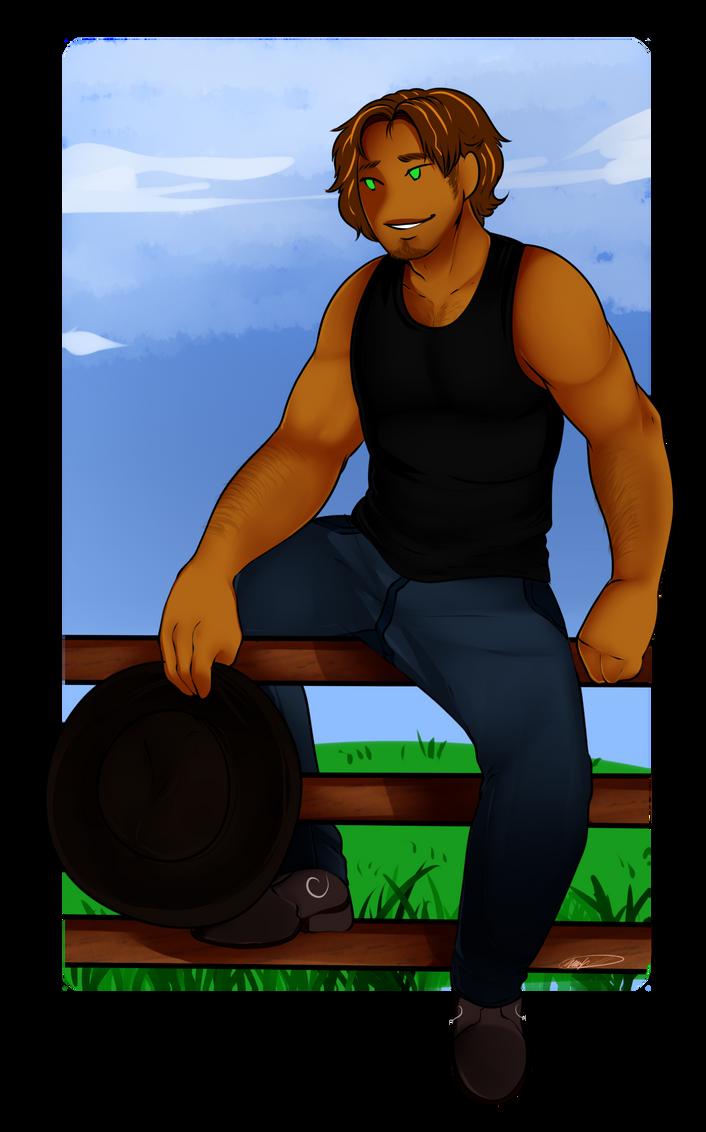 Dan The Gardener by GingerQuin