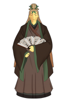 Prince Li Qiang of the Root Kingdom by GingerQuin
