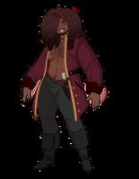 Captain Santiago Thaddeus Calico by GingerQuin