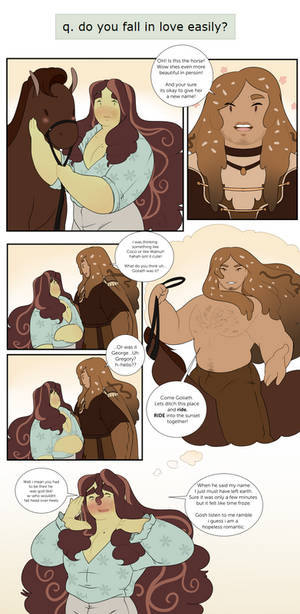 Goliath Q: Love at first sights