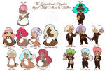 GingerBread Staff Part 1: Butlers and Maids