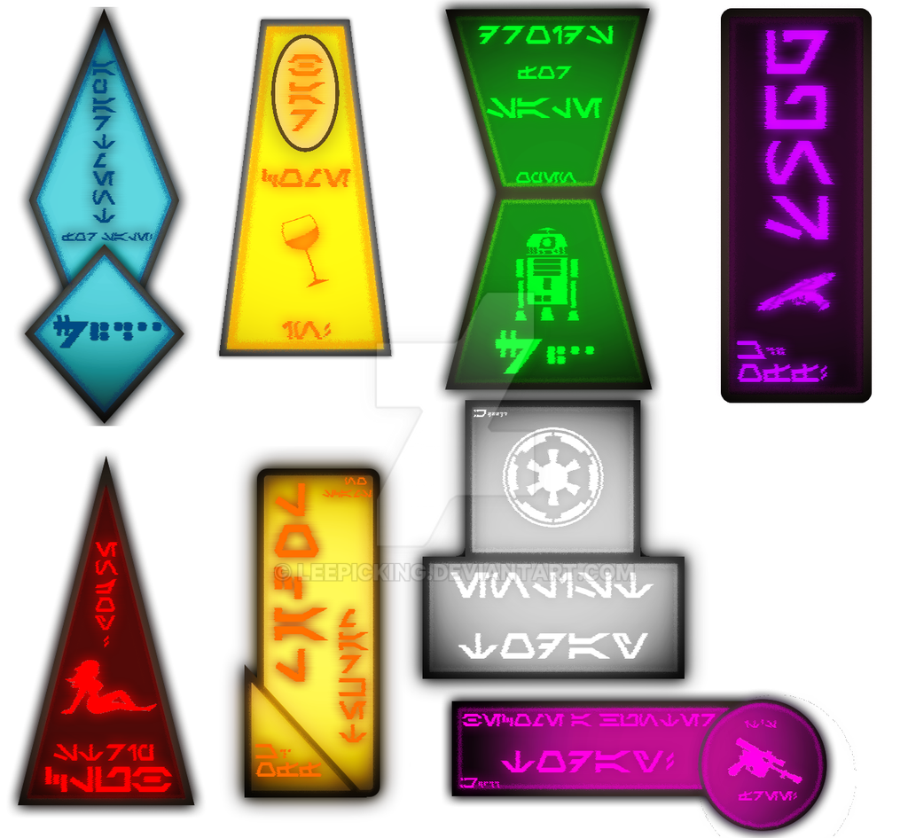 roblox decals coruscant street banners by leepicking