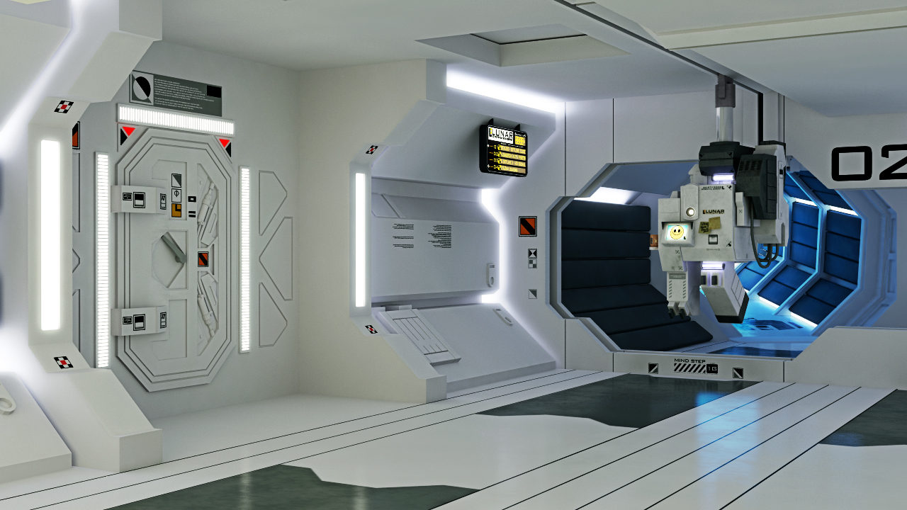 Spacestation Interior | Spacestation | Pinterest | Space Station