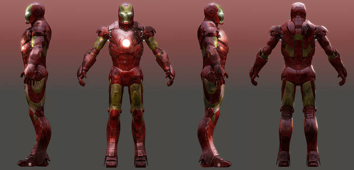 Iron Man Shaders preview