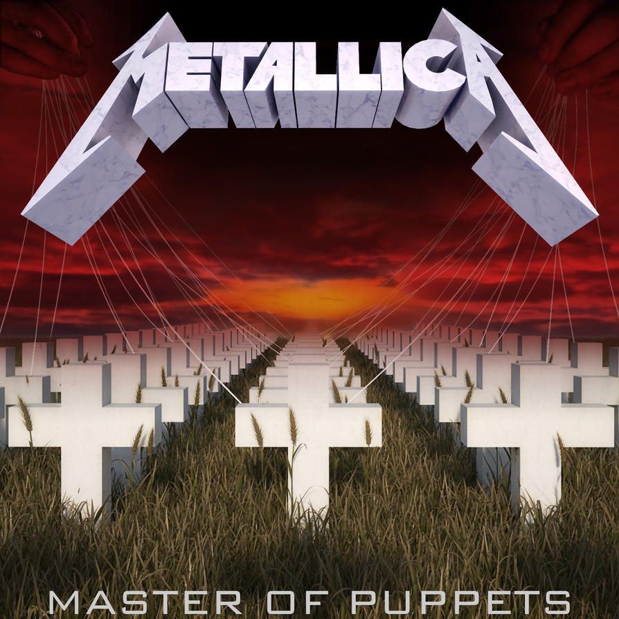 """Resultado de imagem para Metallica trabalha no relançamento do """"Master of Puppets"""""""