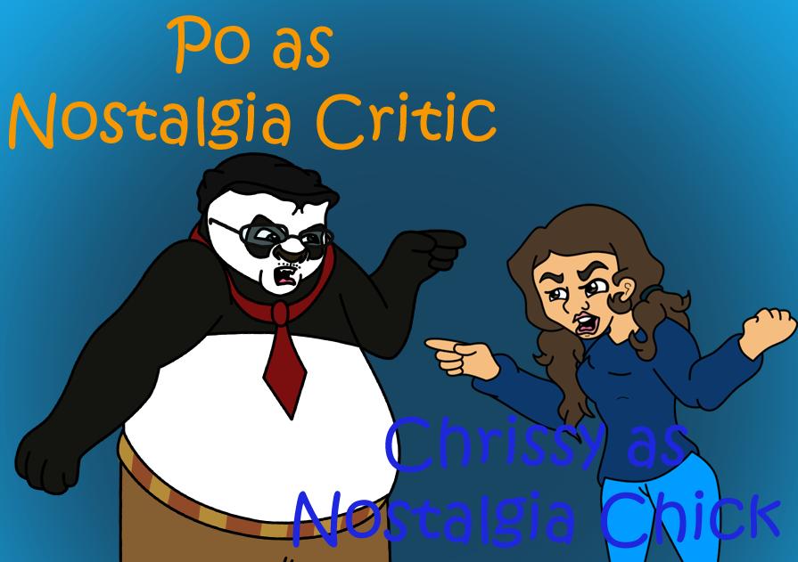 Nostalgia Critic (Po) and Nostalgia Chick (Chrissy by ...