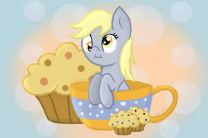 Derpy In A Cup by vcm1824