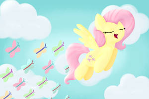 Flying With Butterflies by vcm1824
