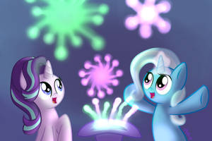 Magical New Friend by vcm1824