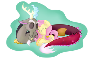 Fluttercord Cuddle by vcm1824
