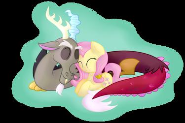 Fluttercord Cuddle by vcm1824