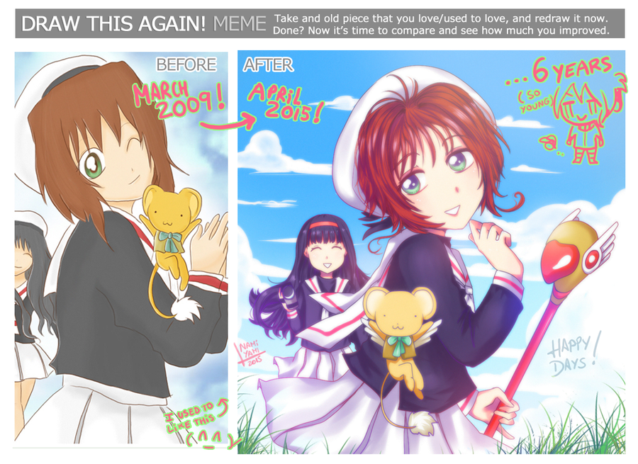 Meme before-after 2009-2015 by NamiYami on DeviantArt