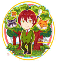 Commission: Marco in the forest by NamiYami