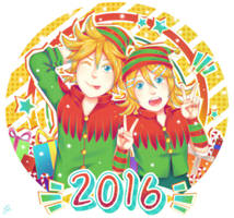 Vocaloid: Happy Holidays! by NamiYami