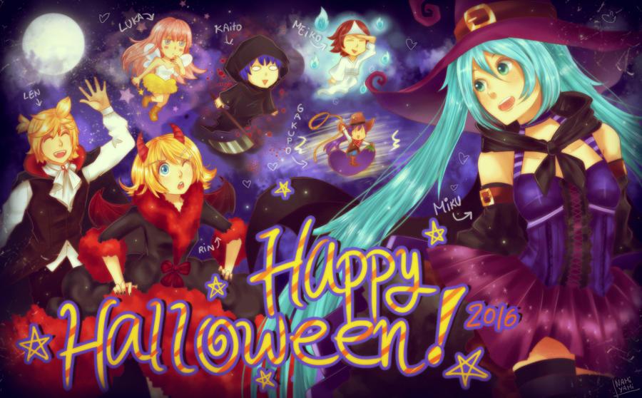 VOCALOID: Halloween 2016 by NamiYami
