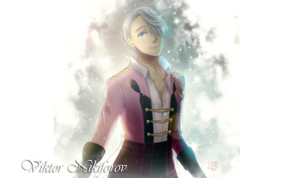 Yuri On Ice: Viktor by NamiYami