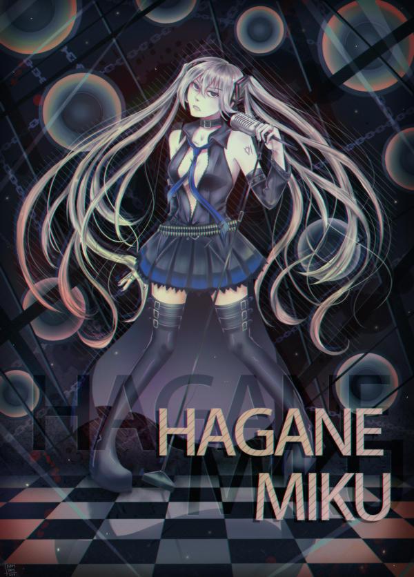 Vocaloid: Hagane Miku by NamiYami