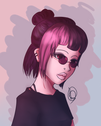 [ D T I Y S ] Stylish girl by Lilcapivara