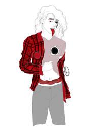 Plaid shirt by Lilcapivara