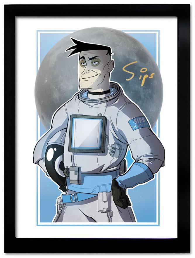 Yogscast : Spaceman Sips by Nina-Serena