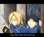FMA Amestris Chronicles: Stay put, Mustang.