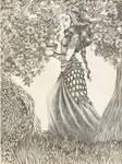 Varda and the Sacred trees of Valinor