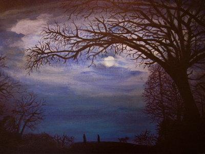 Moonlit Blue by Ealaincraft