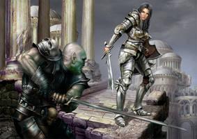 Honor of the sword by YuriPlatov