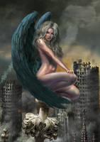 Nuclear Angel by YuriPlatov